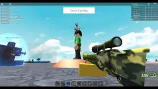 Roblox- Snake Sniper and Scaley The Dragon Gear Review