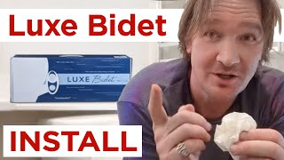 Luxe Bidet Neo 120 - INSTALL - Easy