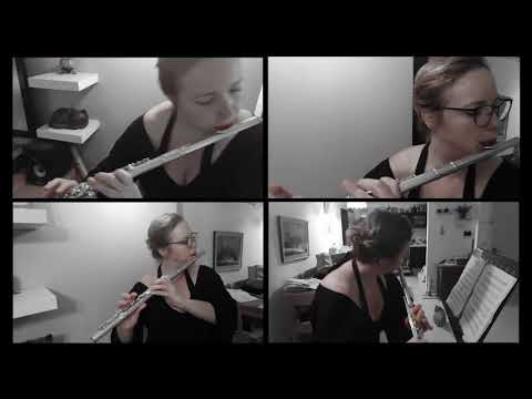 A Piazzolla - Libertango for flute & guitar - смотреть