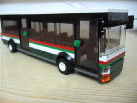 Stadtwerke Augsburg Bus aus LEGO