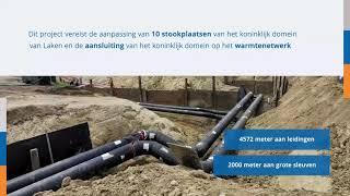Duurzame werken in het koninklijk domein van Laken