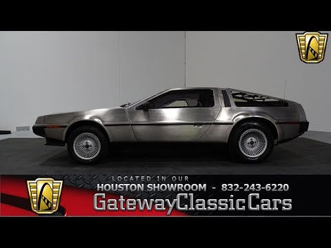 Video of 1981 DeLorean DMC-12 located in Houston Texas - $34,995.00 Offered by Gateway Classic Cars - Houston - LETO