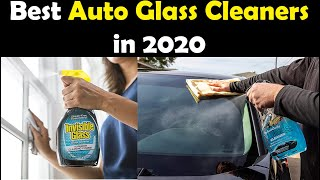 Top 05: Best Auto Glass Cleaners in 2020