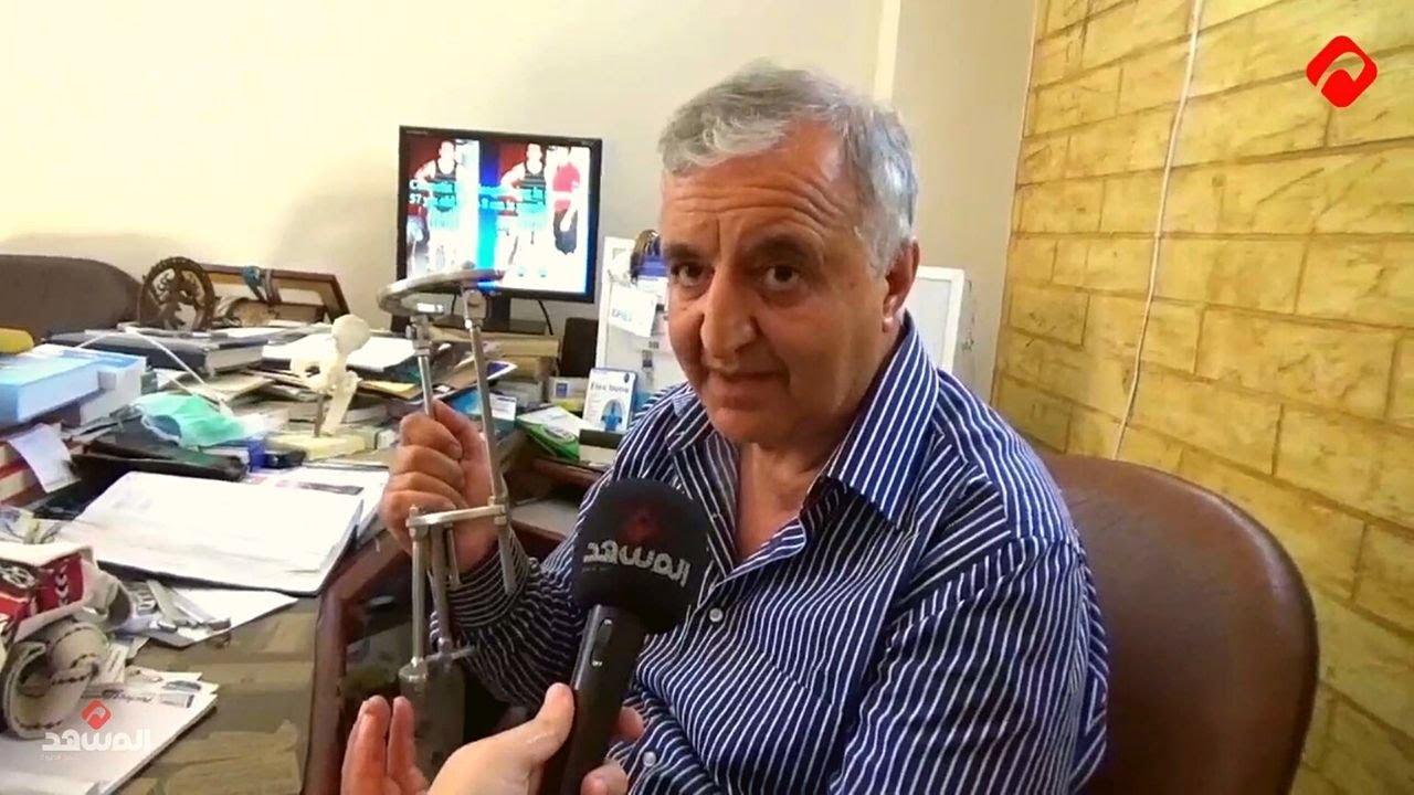 """""""المشهد"""" في لقاء خاص مع الطبيب السوري غسان سلامة مخترع أجهزة Salameh Fix العالمية"""