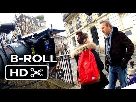 Video trailer för 3 Days To Kill B-ROLL (2014) - Kevin Costner, Amber Heard Movie HD