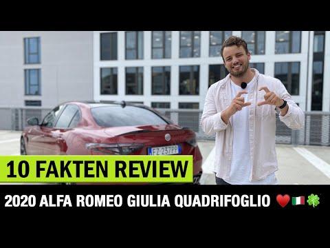Alfa Romeo Giulia Quadrifoglio (2020) ♥️🍀🇮🇹 10 Fakten - Review! Fahrbericht | Test | GTA | GTAm
