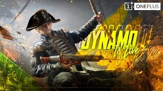 PUBG MOBILE SEASON 9 LIVE WITH DYNAMO | 100 LEVEL ROYAL PASS | PUBG MOBILE NEW UPDATE