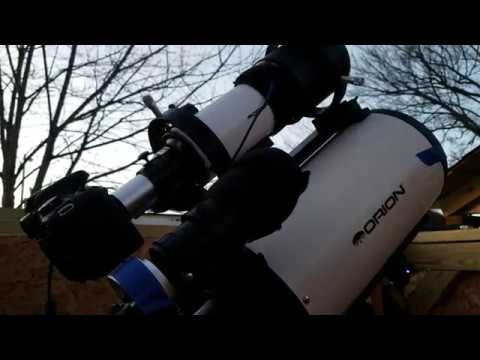 Orion CT80 refractor first light review