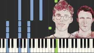 Melody   Lost Frequencies Feat. James Blunt [Piano Tutorial] (Synthesia)