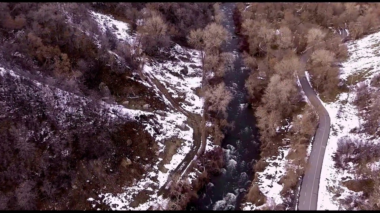 Solo Flight in Wasatch Mountains, Spring 2017