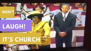 Don't Laugh   Funny Church Moments