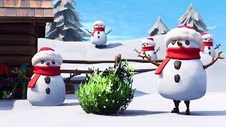 Fortnite Sneaky Snowman New Movie Trailer