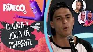 Felipe Prior fala sobre Karol Kancelada e os jogadores da edição, Gilberto e Sarah