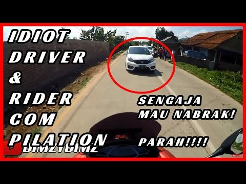 STUPID DRIVER AND RIDER INDONESIA COMPILATION (2018)