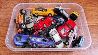 Huge Collection of Various Toy Cars from the box