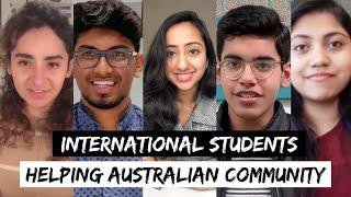 International Students HELPING Australian Community | Act of Kindness |@StudyAUOfficial | @Internash