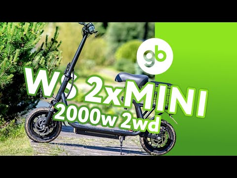 Электросамокат WS-2x Mini 2000w 2wd полный привод
