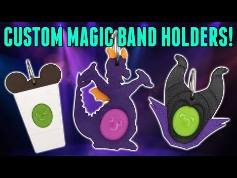 Download The Amazing Magic Band Buddy! A Custom Magic Band Puck Holder! Mp4 HD Video and MP3