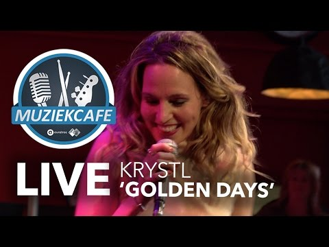 Krystl - 'Golden Days' live bij Muziekcafé
