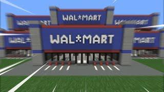 3000 viewers build a walmart empire in minecraft