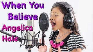 When You Believe Cover by Angelica Hale (6 years old) from Prince of Egypt
