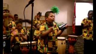 Mabelvale Elementary Groove and Drum Ensemble lead by Mr. Frank Williams
