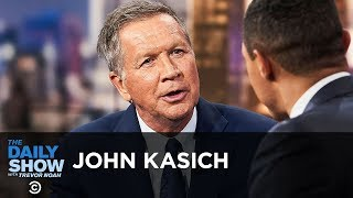 John Kasich - Seeking Non-Partisan Solutions to America's Problems | The Daily Show
