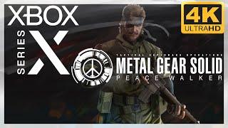 [4K] Metal Gear Solid : Peace Walker HD / Xbox Series X Gameplay