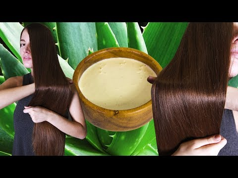 Натуральная маска, которая сделает ваши волосы блестящими и сильными 🌴 POLI NA PALME