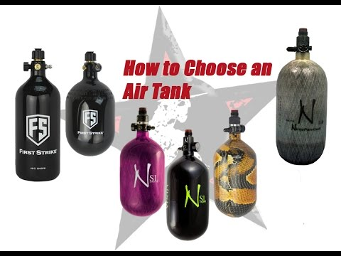 How to Choose an Air Tank: A Guide for Paintball Players