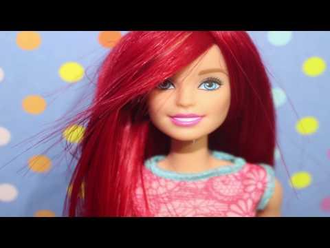 Barbie Peruk Yapımı - Ariel ve Poison İvy Dönüşümü - DIY - Kendin Yap Barbie Saç -  Bidünya Oyuncak