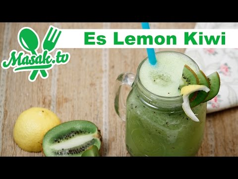 Video Es Lemon Kiwi | Minuman #087