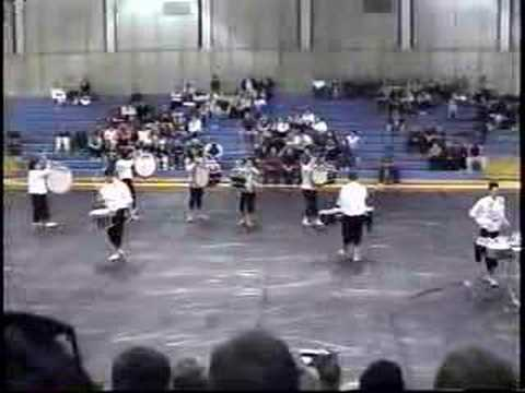 Clovis East High School Drumline 2002