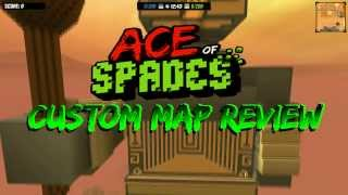 preview picture of video 'Ace of Spades - 1.0 Custom Map Review #16 City of Ra'