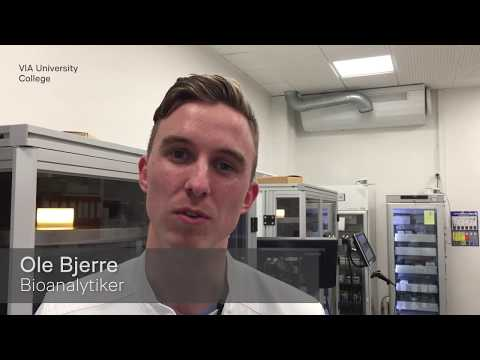 Mød Ole, der arbejder som bioanalytiker på Regionshospitalet Viborg