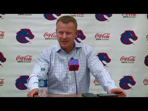 Bryan Harsin's full weekly interview after Boise State's win over Marshall