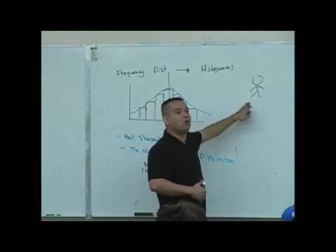 Daniel Judge- Statistics Lecture 12 (part 1)
