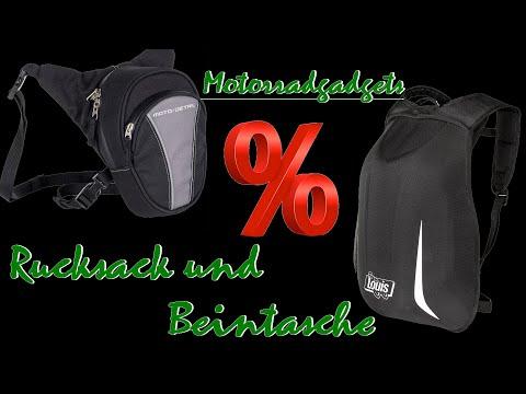 Motorradgadgets | Rucksack und Beintasche zum Sonderpreis !