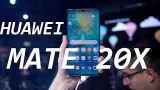 Huawei Mate 20 X Quick Look: This Thing is Gigantic