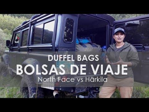 La mejor bolsa / mochila de viaje : North Face vs Härkila | Duffel bags