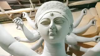Durga Idol Making in progress 2020 | Durga Murti Making | Durga Puja 2020 | Kolkata Kumartuli 2020 - Download this Video in MP3, M4A, WEBM, MP4, 3GP