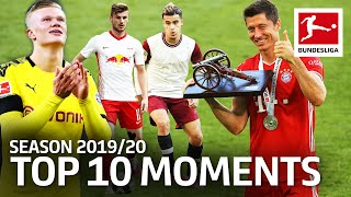 Top 10 Moments 2019/20 - Lewandowski, Werner, Haaland & More