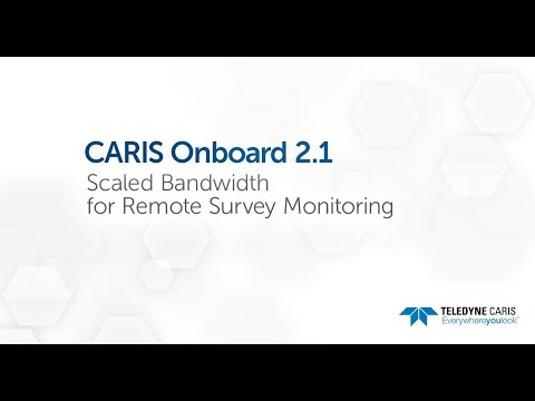CARIS Onboard 2.1 - Scaled Bandwidth