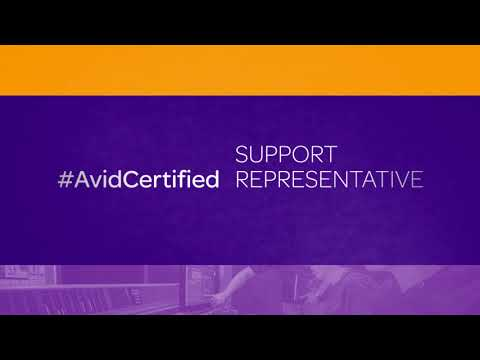 Depend on Avid Certified Professionals. - YouTube
