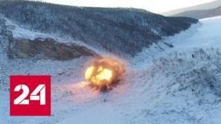 МЧС готовится взорвать оползень, перекрывший реку Бурея - Россия 24