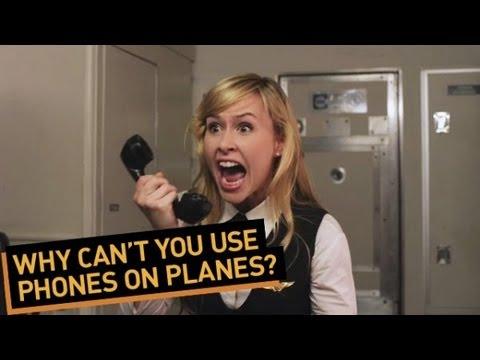 Proč nemůžeme používat mobily v letadle
