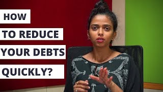 Debt Trap - How to Reduce Your Debts Quickly?