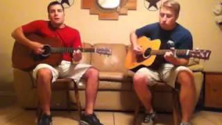Lonely Lubbock Lights - Aaron Watson (cover by Zach and Ric
