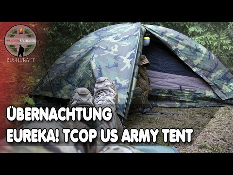 EUREKA! TCOP US Army USMC Combat WCP Tent/ Zelt - Erste Übernachtung