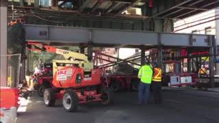 Integrated Structures - Mezzanine Frame Erection